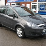 VAUXHALL ZAFIRA 1.6 EXCLUSIVE 2013 ONLY 5036 MILES £7350